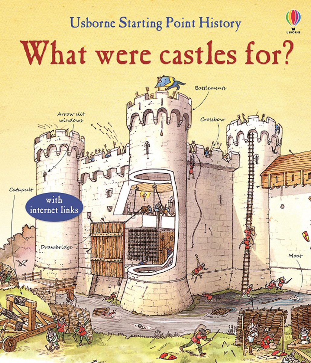 What Were Castles For? little children s knights and castles activity book