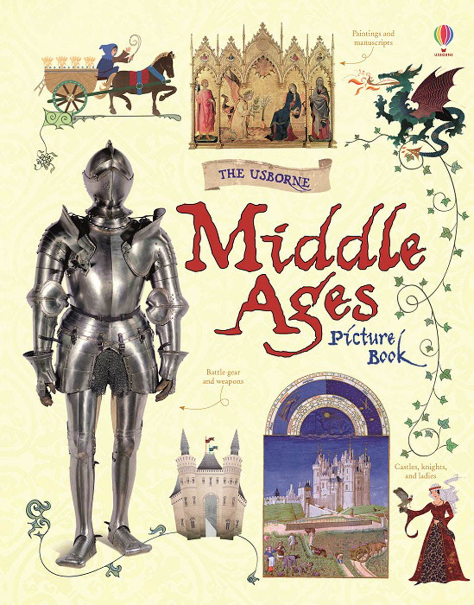 Middle Ages Picture Book little children s knights and castles activity book