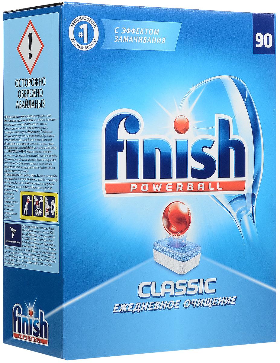 Finish Classic таблетки для ПММ, 90 таблеток bqlzr 8 inch hairline finish silver security door slide flush latch bolt