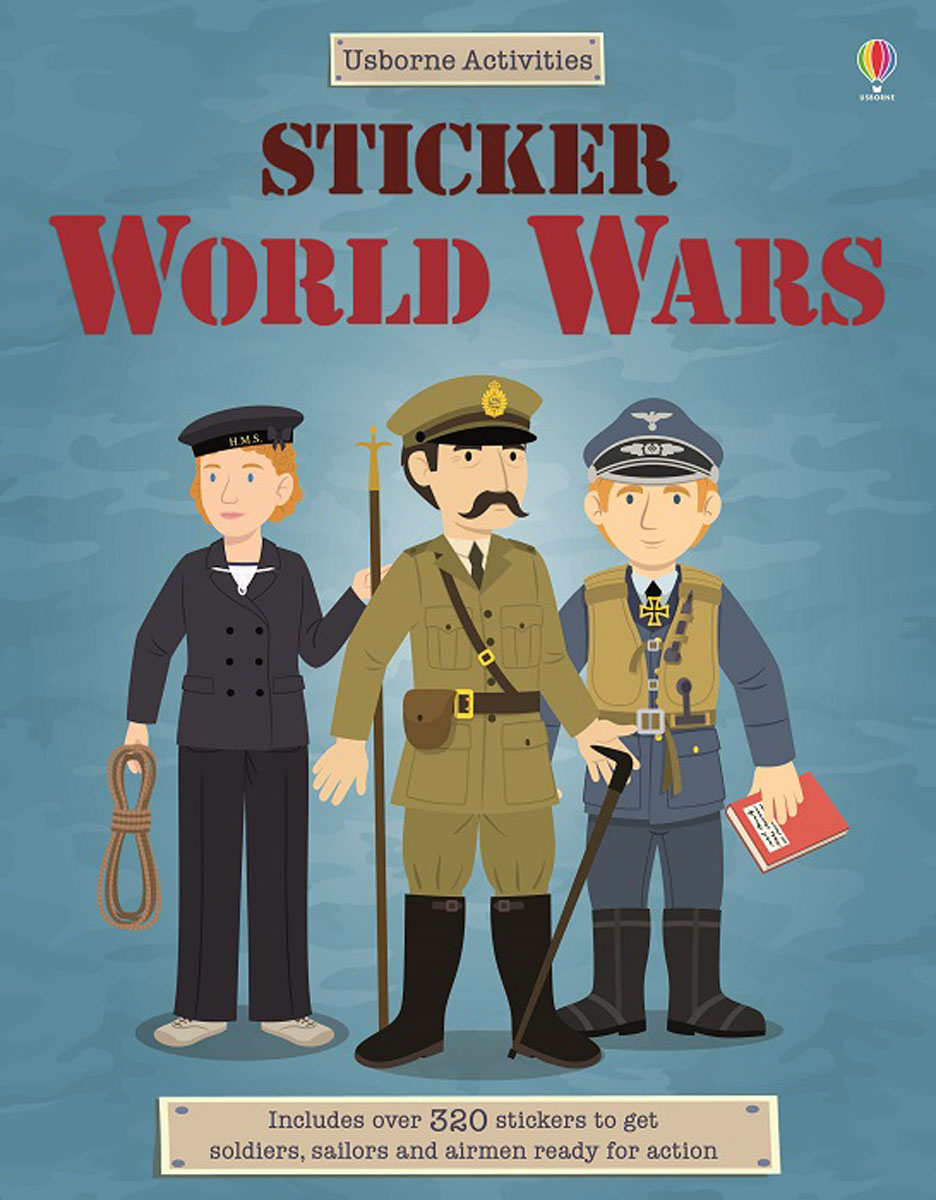 Sticker The World Wars munro canada and the world wars paper only