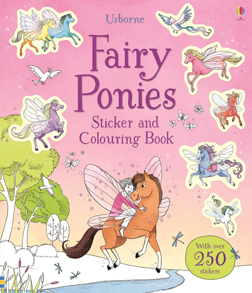 Fairy Ponies Sticker and Colouring Book princess ponies 6 best friends for ever