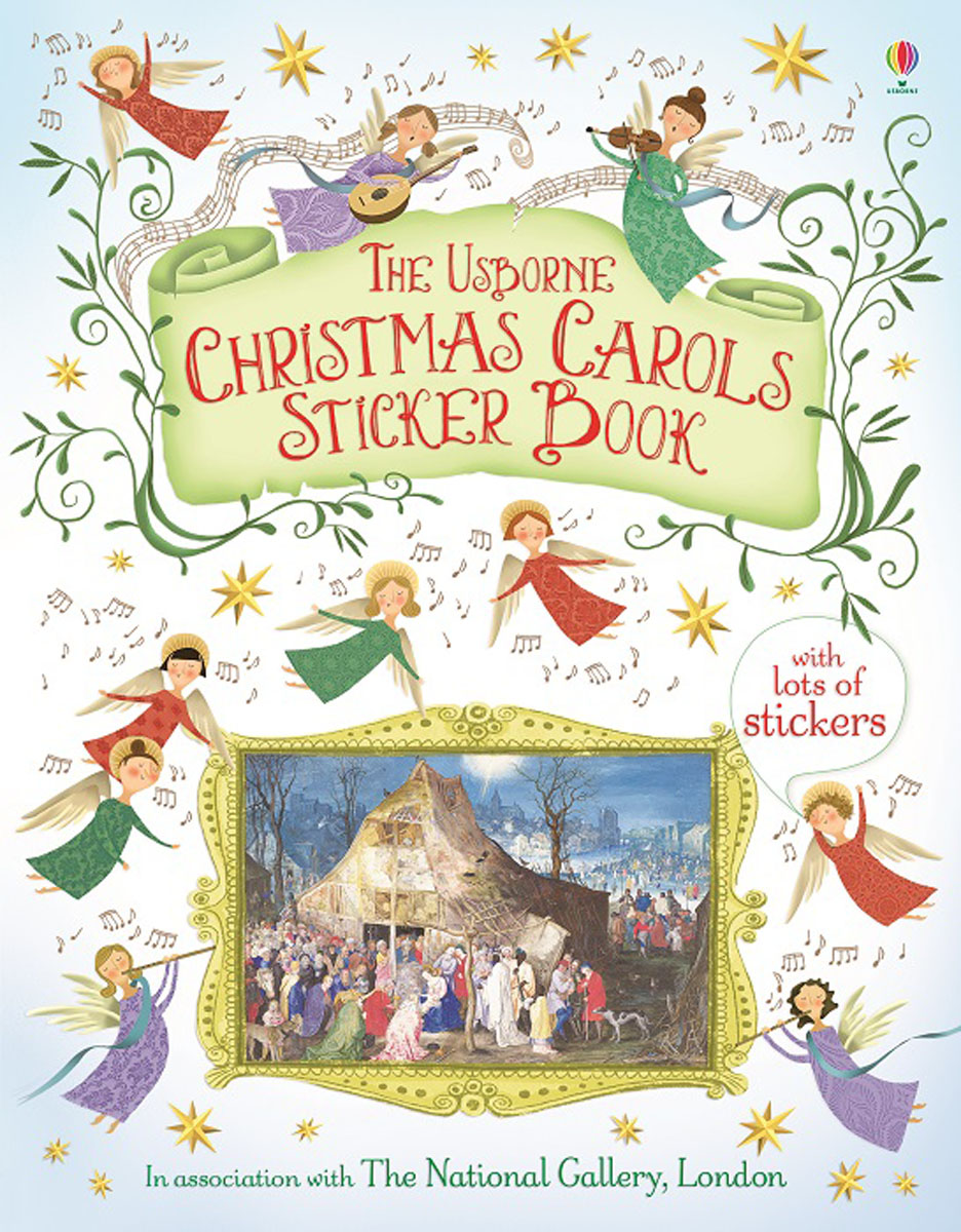 Christmas Carols Sticker Book christmas carols