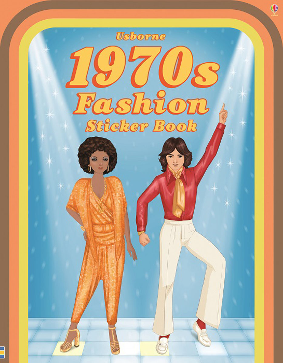 1970s Fashion Sticker Book maisy s farm sticker book