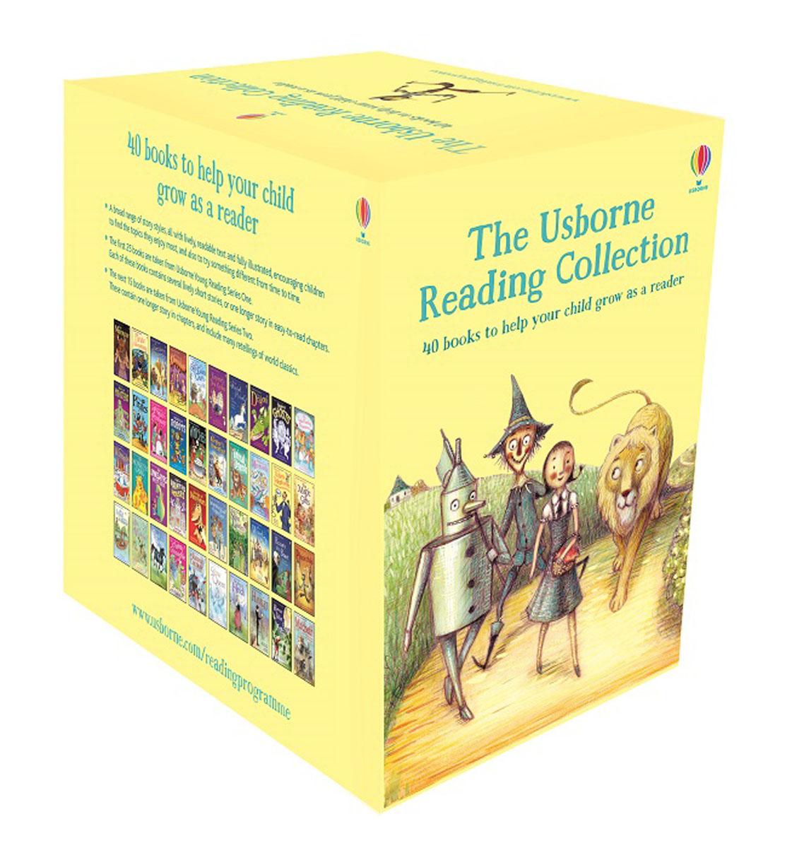 The Usborne Reading Collection father and son of the complete collection of sound books classics children s comics best selling books