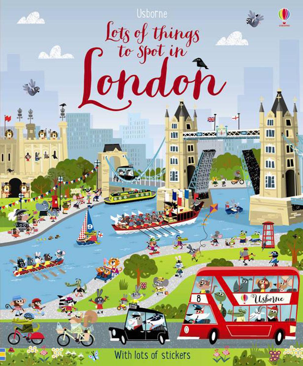 Lots of things to spot in London 50 things to spot in london набор из 52 карточек