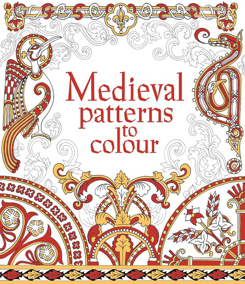 Medieval Patterns to Colour the art of not breathing
