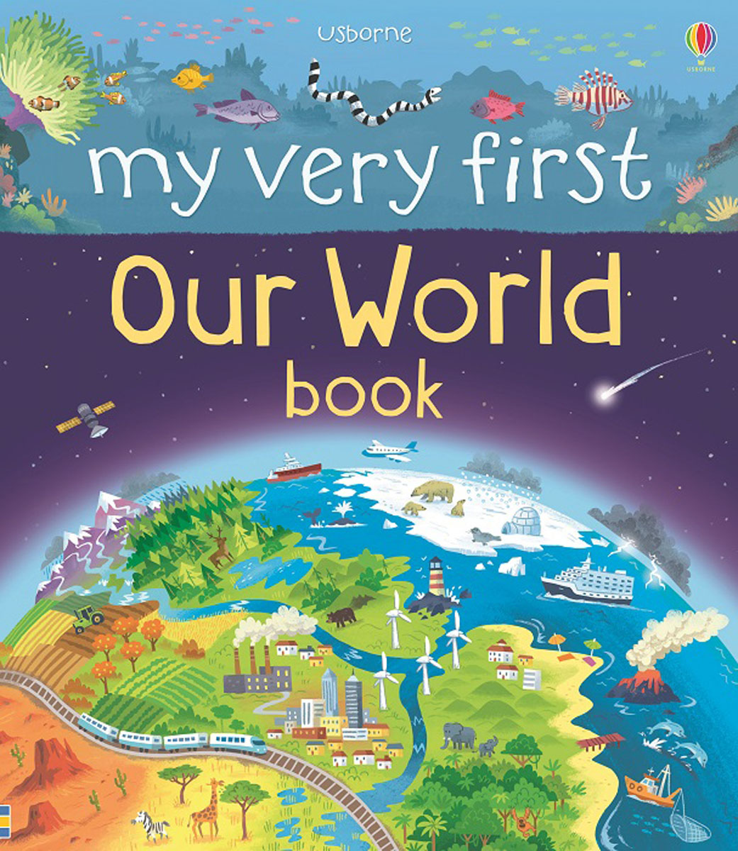 My Very First Our World Book italian visual phrase book