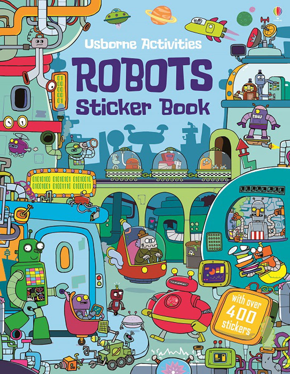 Robots Sticker Book monsters of folk monsters of folk monsters of folk