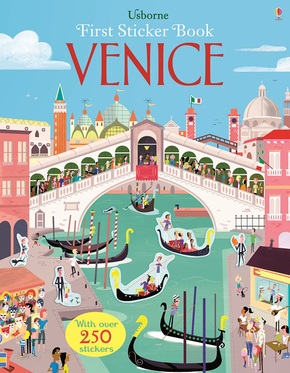 First Sticker Book Venice first sticker book cities of the world