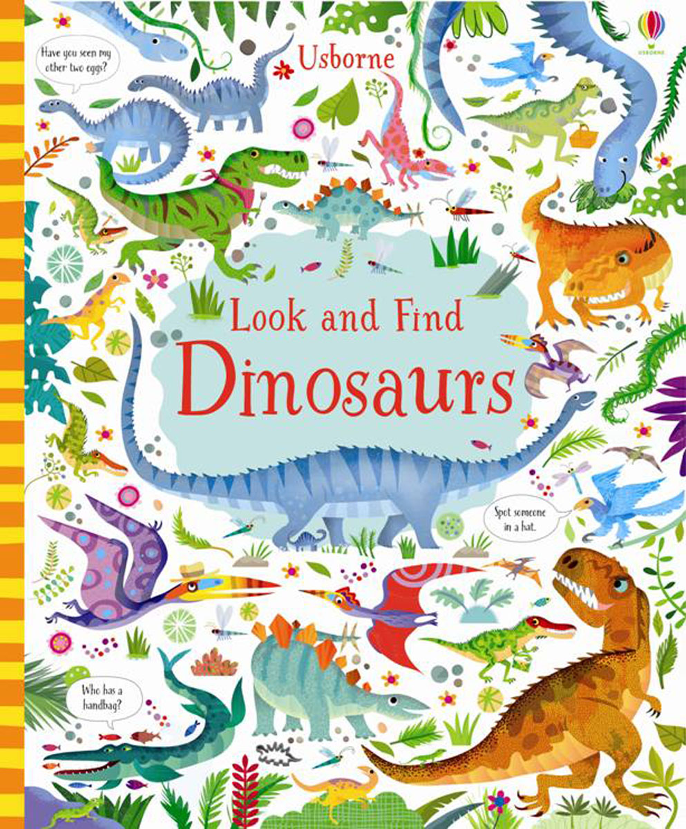 Look and Find Dinosaurs ultimate sticker book dangerous dinosaurs