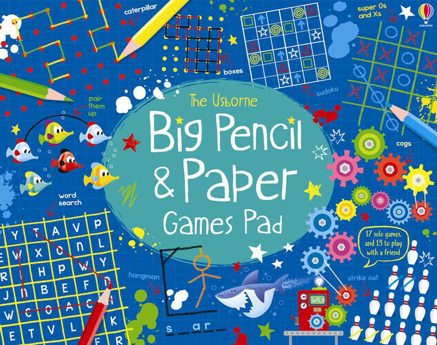 Big Pencil and Paper Games Pad kitrlp74002unv55400 value kit roselle paper co premium sulphite construction paper rlp74002 and universal economy woodcase pencil unv55400