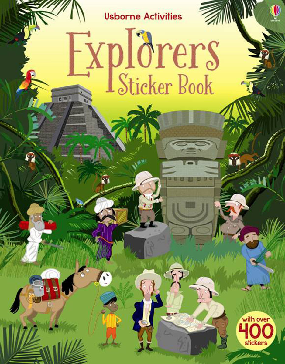 Explorers Sticker Book sticker dolly dressing around the world