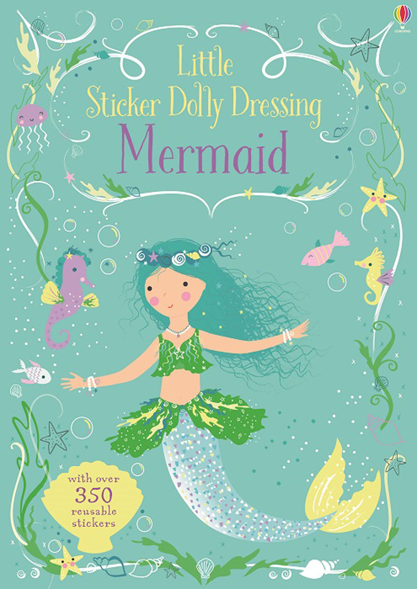 Little Sticker Dolly Dressing Mermaid little children s knights and castles activity book