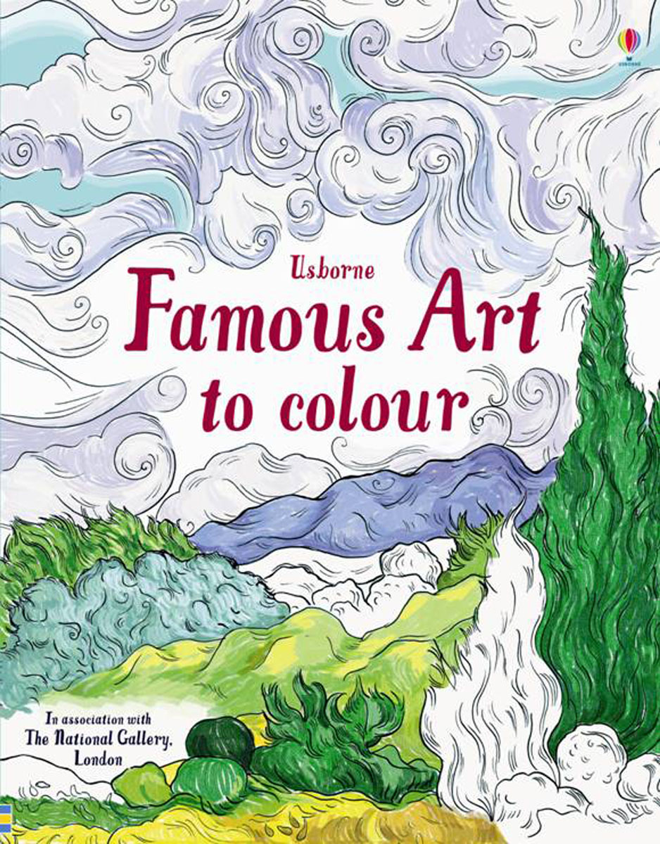 Famous Art to Colour dickins r the children s book of art