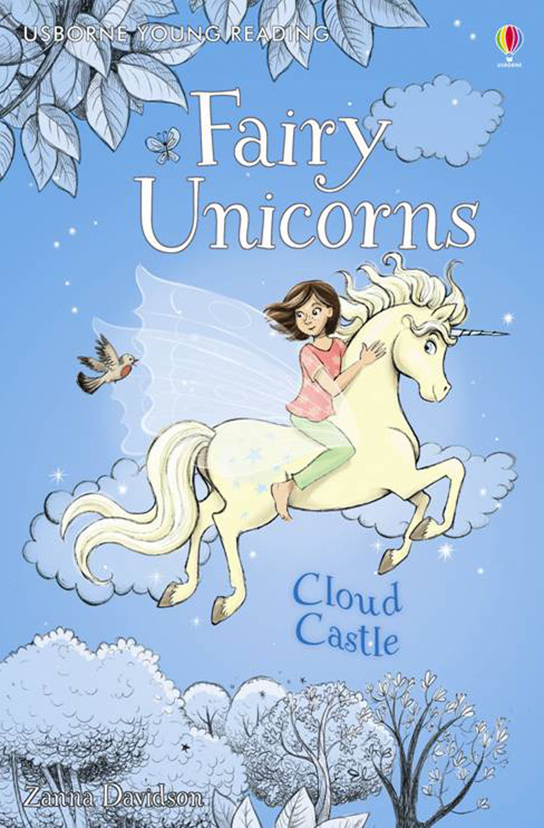 Fairy Unicorns Cloud Castle fairy ponies sticker and colouring book
