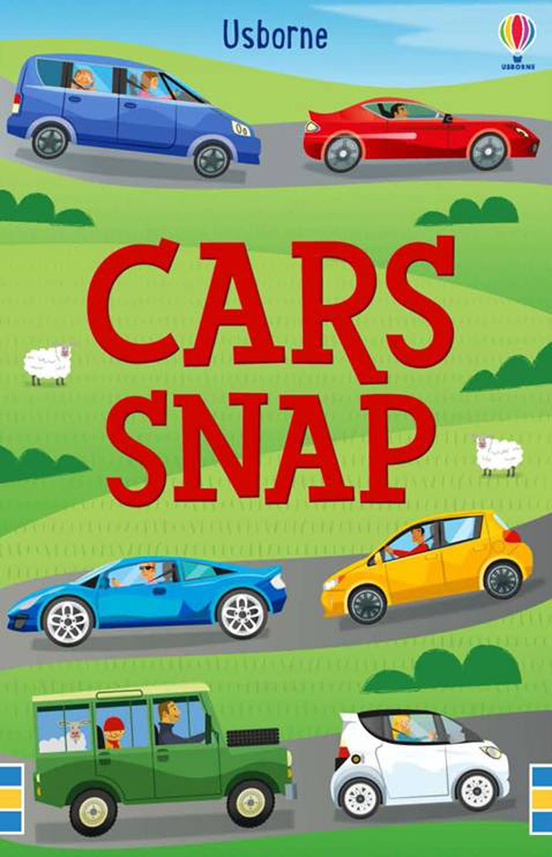 Usborne Cars Snap