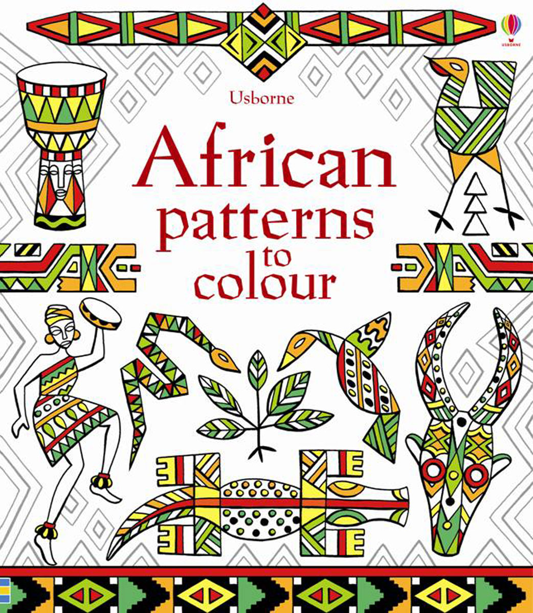 African Patterns to Colour patterns to colour
