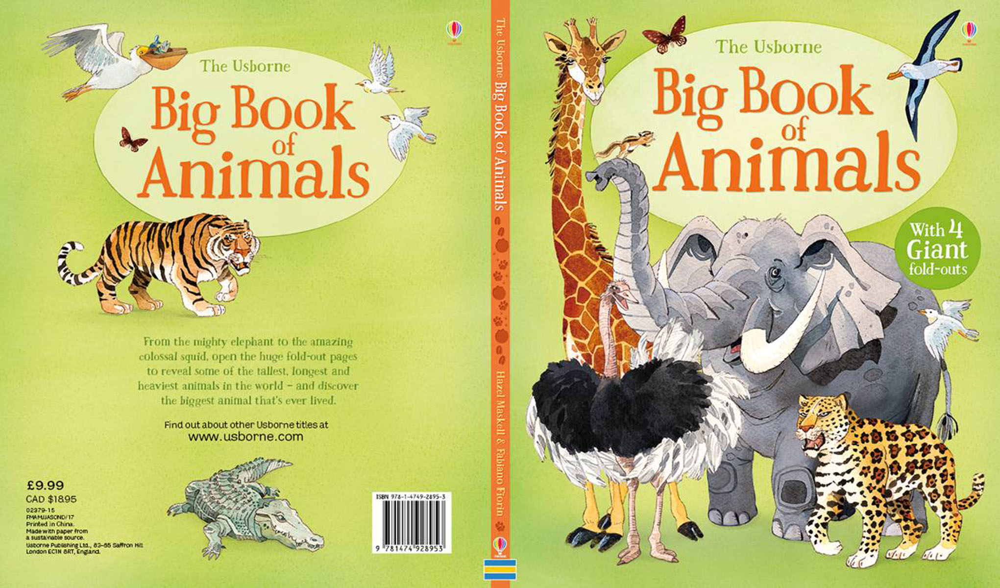 Big Book of Animals the inner life of animals