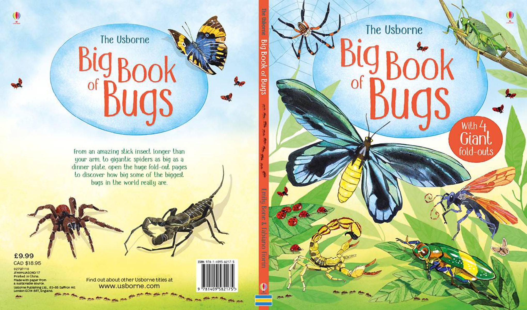 The Usborne Big Book of Bugs motorcycle new adjustable cnc billet short folding brake clutch levers for triumph tiger explorer 1200 2012 2015 2013 2014 12 15