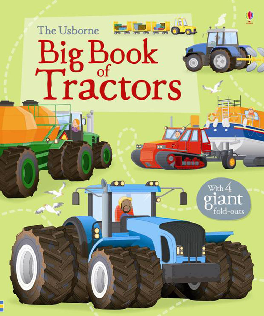 цены Big Book of Tractors