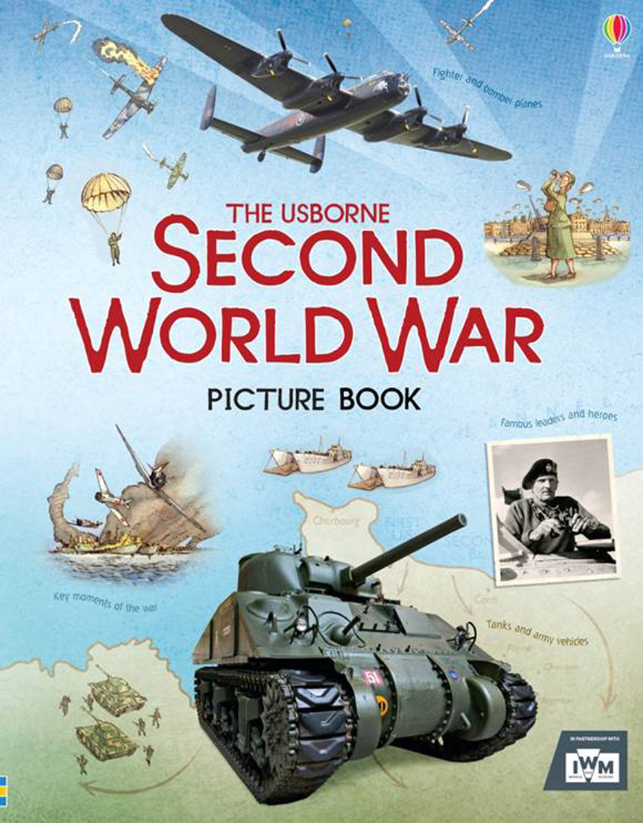 Second World War Picture Book atlas of the world picture book