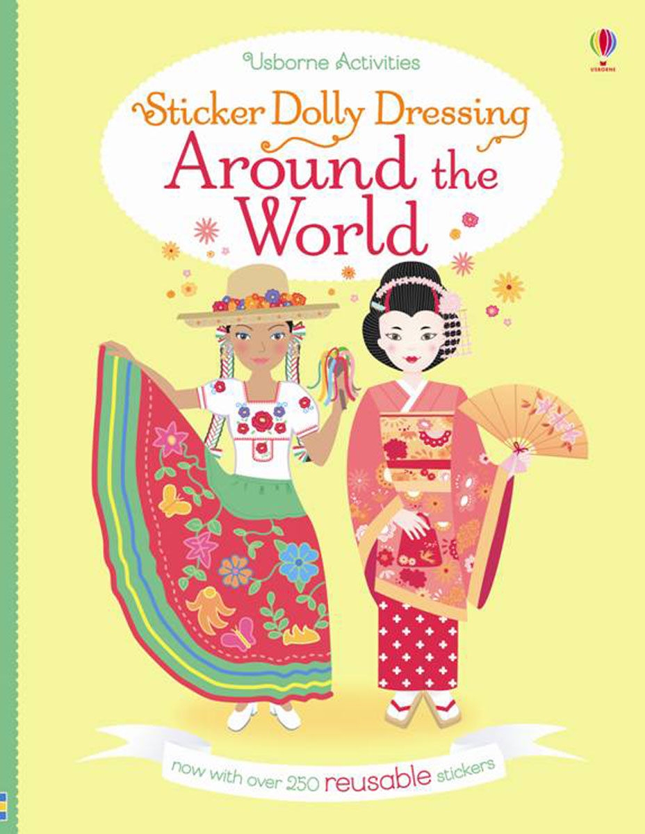 Sticker Dolly Dressing Around the World sticker dolly dressing around the world