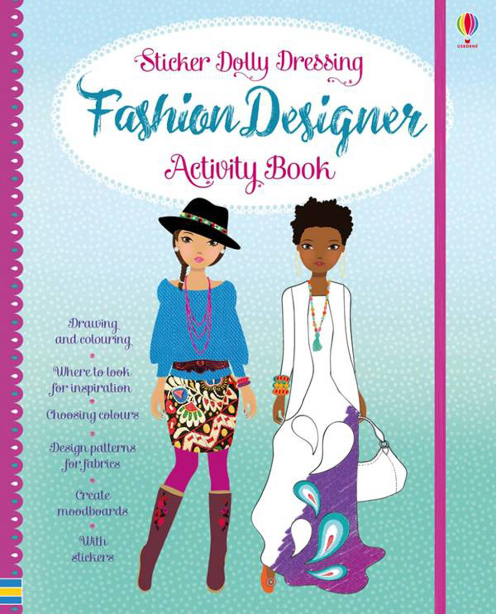 Sticker Dolly Fashion Designer Activity Book my 1 2 3 sticker activity book