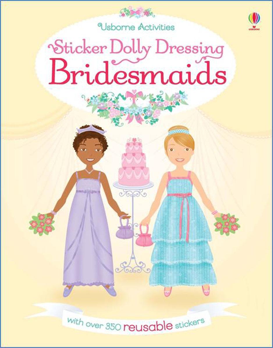 Sticker Dollly Dressing Bridesmaids sticker dolly dressing fancy dress