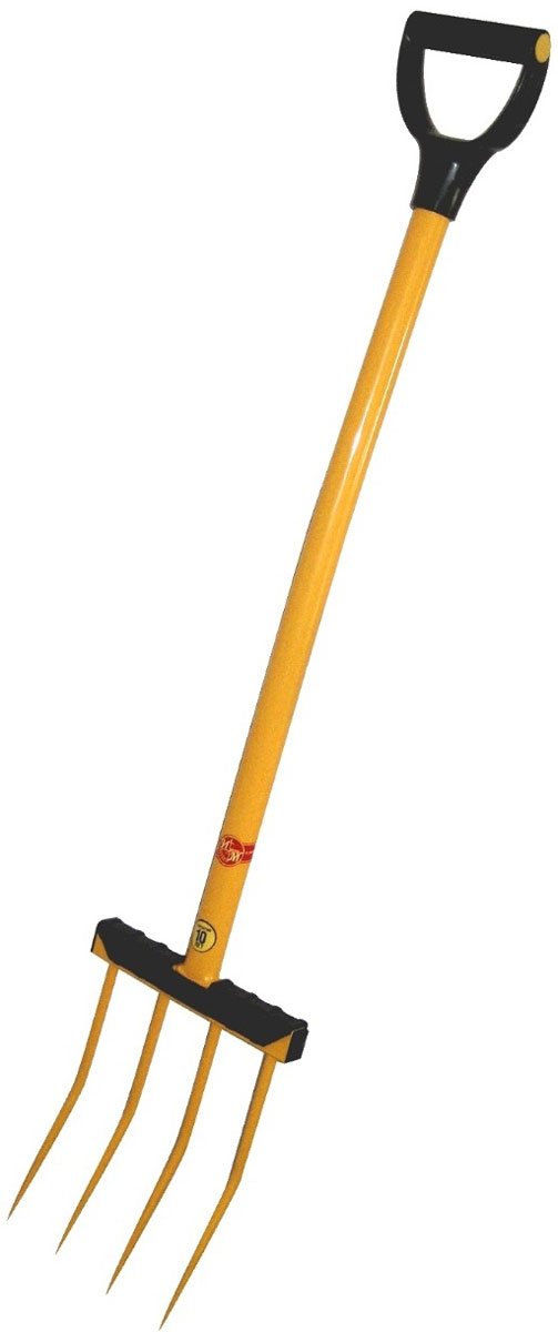 Вилы садовые Торнадо 4TOR-32VIL-4Вилы садовые Торнадо изготавливаются вручную кузнечным и сварным методом. Имеют максимальный лимит прочности на излом.Казалось бы, что нового может быть в таком инструменте как давно всем известные вилы? Оказывается может, если собрать вместе все, что производится и с успехом продается на рынке сельхоз. инструмента. Наши вилы это совокупность всего хорошего и востребованного? А это:1. Прочность зубьев. Она достигнута за счет ручной ковки каждого зуба и его термообработки. В результате нашими вилами можно без опаски копать.2. Металлический черенок позволит не ломать голову через год работы где купить новый, а забыть эту проблему на ближайшие 10 лет.3. Эстетичный внешний вид.