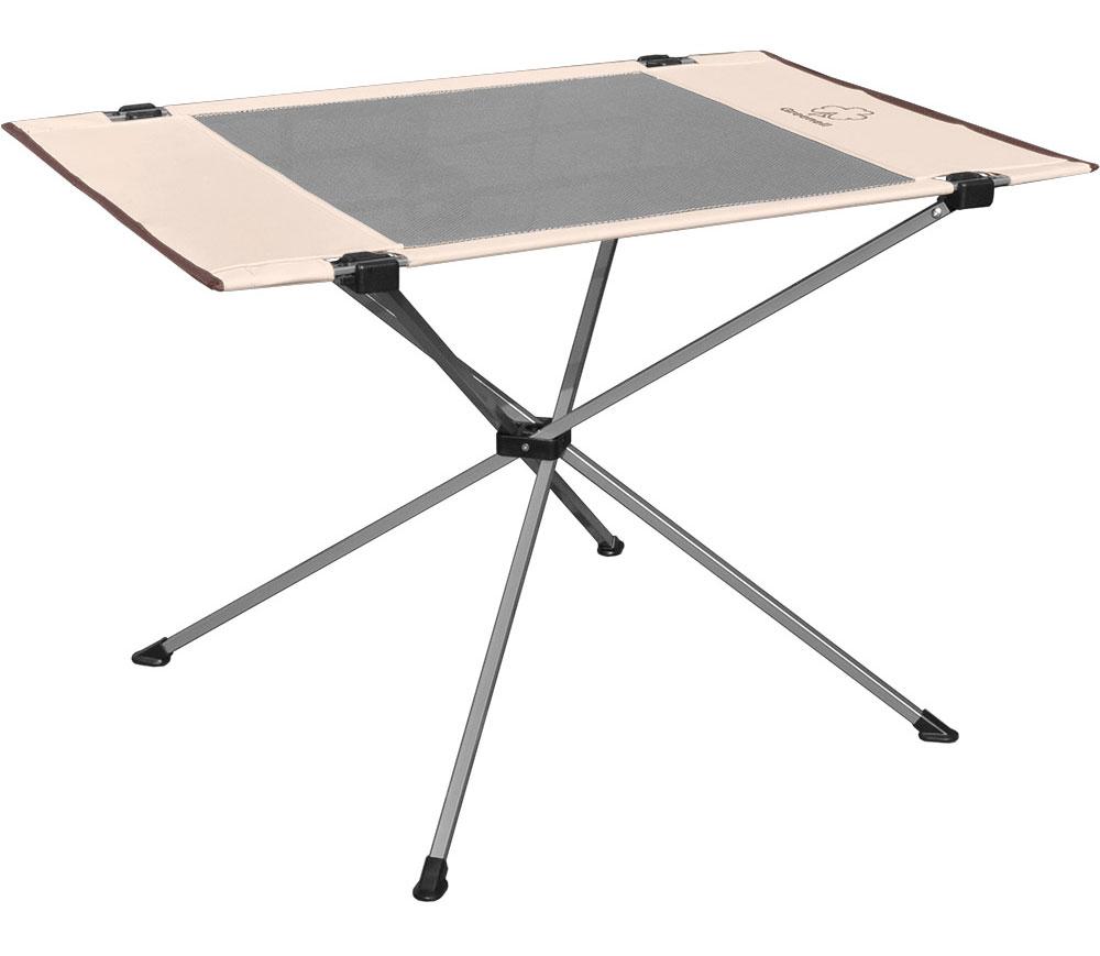 Стол складной Greenell Эйр FT- 14, цвет: бежевый, коричневый, 81 х 56 х 53 см палатки greenell палатка дом 2