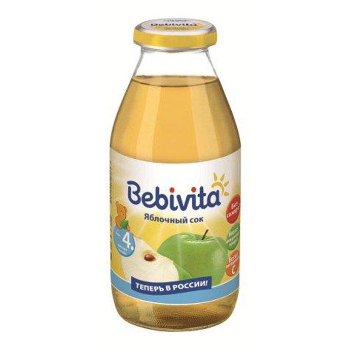 Bebivita Сок яблочный восстановленный осветленный с витамином С, с 4 месяцев, 200 г9007253101974Сок Bebivita Яблоко рекомендуется детям с 4 месяцев для утоления жажды или в качестве прикорма, начиная с 1 чайной ложки в день, увеличивая к 12 месяцам до 50-100 мл. Яблочный сок содержит органические кислоты, природные сахара, железо и другие микроэлементы. Калий и магний способствуют укреплению сердечно-сосудистой системы. Пектины и органические кислоты мягко нормализуют деятельность ЖКТ. Натуральный яблочный сок усиливает кроветворение, очищает организм от токсинов и регулирует углеводный обмен. В продукте содержится большое количество витамина С, необходимого для формирования иммунной системы и лучшего усвоения железа в организме.