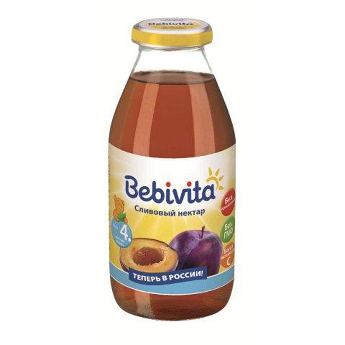 Bebivita Нектар сливовый с витамином С, с 4 месяцев, 200 г bebivita 200