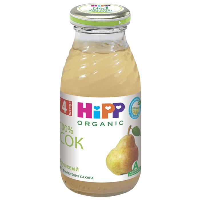Hipp Сок грушевый, с 4 месяцев, 200 г9062300105626Сок Hipp Груша содержит большое количество пектиновых соединений, которые улучшают работу кишечника и пищеварение в целом. Груша оказывает бактерицидное действие на весь организм. Грушевый сок обладает закрепляющим эффектом. Он богат клетчаткой, фолиевой кислотой, важной для роста, а также фосфором, кальцием и магнием. Рекомендуется детям с 4 месяцев, начиная с минимальной дозы после одного из утренних кормлений, постепенно увеличивая в течение 5-7 дней до 20-30 мл.