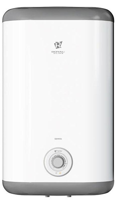 В накопительном водонагревателе Royal Clima RWH-G50-FE применена уникальная технология равномерного   покрытия внутреннего бака увеличенным слоем антибактериальной стеклокерамической ВIO-эмали.   Высококачественный медный нагревательный элемент повышенного срока службы обеспечивает высокую   скоростью нагрева воды. Заботливый режим iLike предназначен для установки наиболее комфортной температуры нагрева воды (55   градусов) с соблюдением оптимальных параметров по энергопотреблению. Эмалевое покрытие бака устойчиво к   царапинам и ржавчине. Компактность прибора обеспечивает его легкую установку в любом помещении.       Как выбрать водонагреватель. Статья OZON Гид