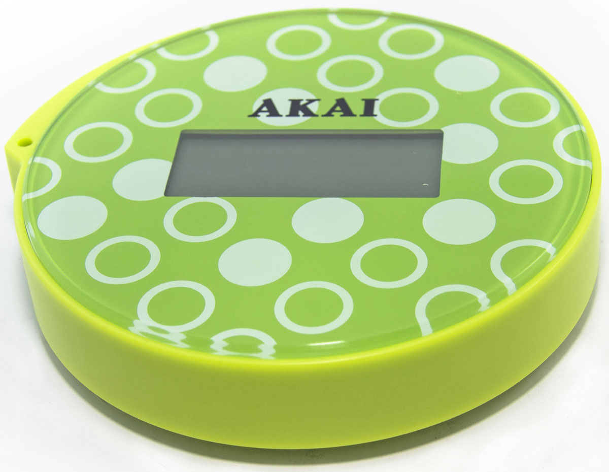 Весы напольные Akai, электронные, цвет: салатовый, до 150 кг akai pro ewm1