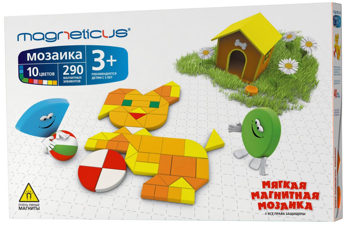 Magneticus Мозаика 40 этюдов MM-290 мозаика 654 элемента 11 цветов 40 этюдов