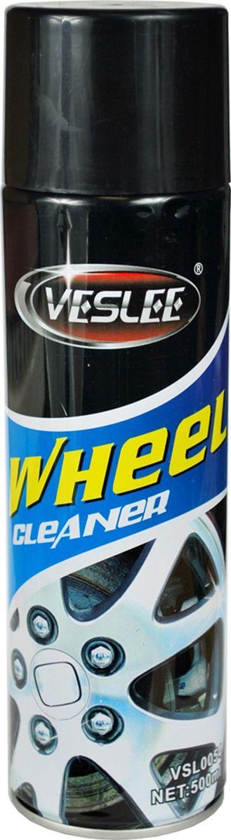 Очиститель для автомобильных дисков Veslee, аэрозоль, 500 млVL-19Очиститель Veslee - мощное средство для очистки колесных дисков от тормозной пыли, дорожной грязи, битумных и масляных пятен.Придает дискам блеск и обновленный вид, не повреждает пластиковые и резиновые детали.Подходит для любых типов дисков, в том числе изготовленных из сплавов, окрашенных и со сложным рисунком.Легко очищает и удаляет загрязнения любого характера и сложности.