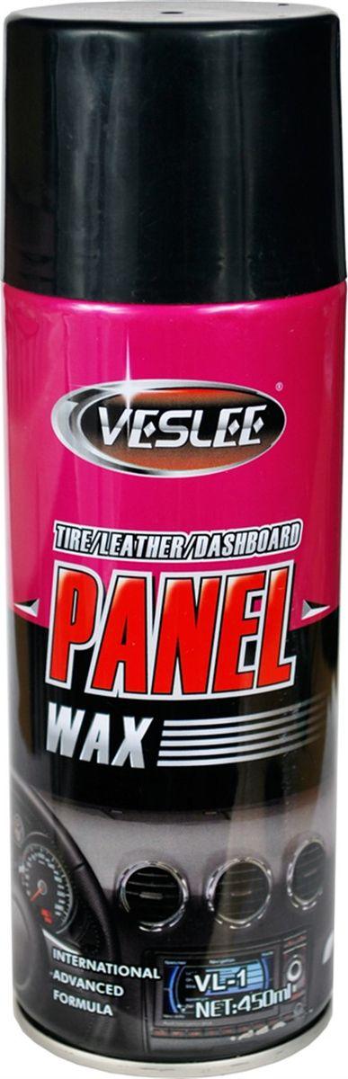 Полироль для приборной панели Veslee Лимон, аэрозоль, 450 мл полироль пластика eltrans аэрозоль атлантическая свежесть 400 мл