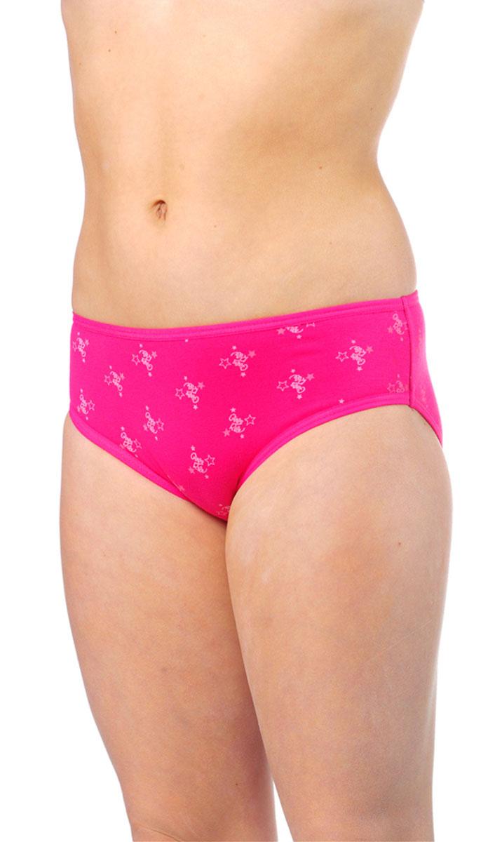 Трусы для девочки Lowry, цвет: светло-розовый, розовый, 2 шт. GP-283. Размер XL (134/140) трусы lowry трусы 3 шт
