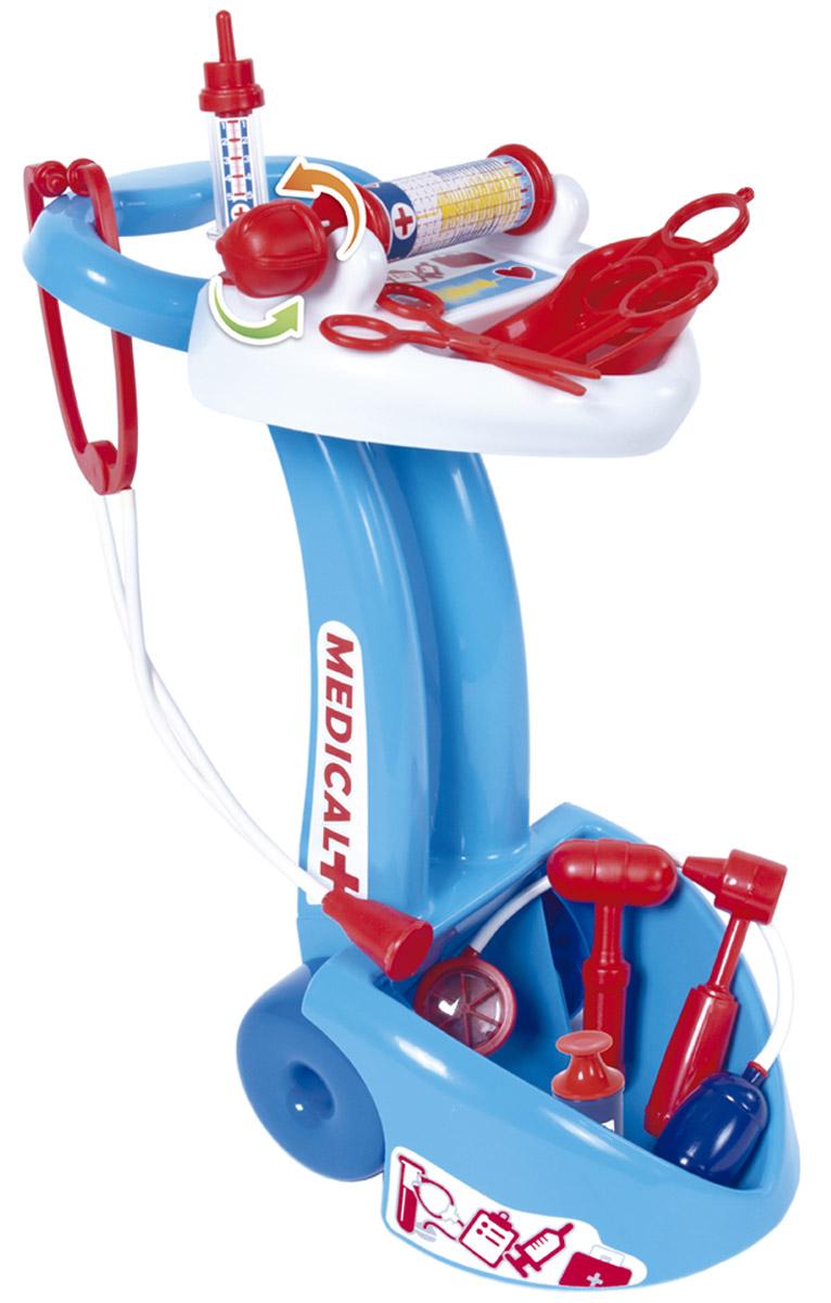цены Palau Toys Игровой набор Доктор с тележкой