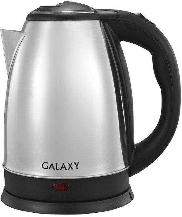 Galaxy GL 0312, Black чайник электрический4630003365286Электрический чайник Galaxy GL 0312 прост в управлении и долговечен в использовании. Корпус выполнен из качественных материалов. Мощность 1800 Вт быстро вскипятит 1,8 литра воды. Беспроводное соединение позволяет вращать чайник на подставке на 360°. Для обеспечения безопасности при повседневном использовании предусмотрены функция автовыключения, а также защита от включения при отсутствии воды.Указатели максимального и минимального уровня воды
