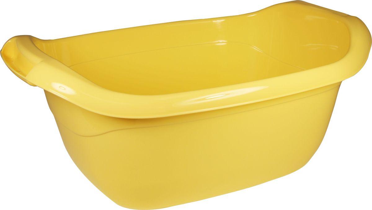 Таз овальный Idea, цвет: банановый, 10 лМ 2544_банановыйОвальный таз Idea изготовлен из высококачественного полипропилена и эластана. Таз устойчив к ударным нагрузкам. Вогнутая форма на боковой поверхности таза дает дополнительную жесткость и прочность. Удобно выполненная конструкция ручек позволяет с комфортом переносить содержимое. Он предназначен для замачивания и стирки белья. Таз пригодится в любом хозяйстве.Размер: 43 х 31 х 18,5 см.