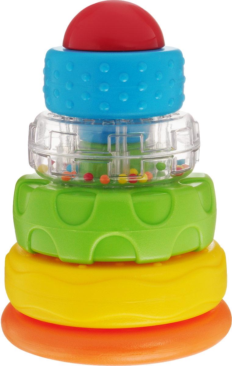 Playgo Развивающая игрушка Пирамида-неваляшка