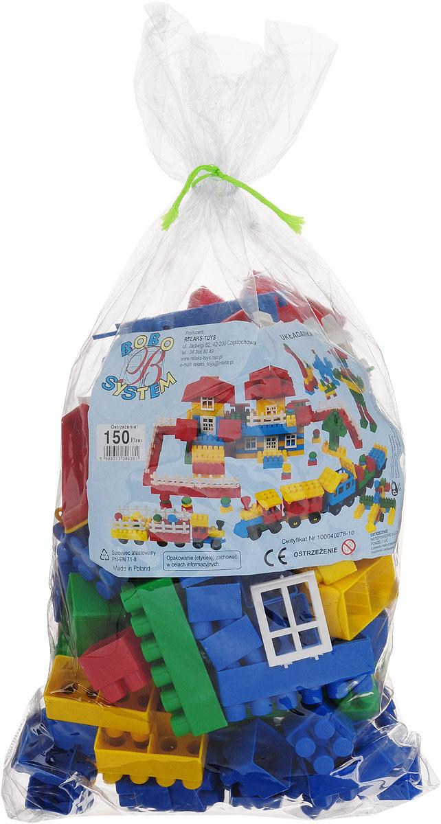 Relaks Toys Конструктор П-6381 конструкторы plan toys конструктор блоки