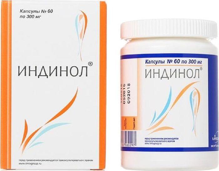 Индинол, 60 капсул х 300 мг202319Индинол - биологически активная добавка к пище, является универсальным гиперпластических корректором патологических процессов в органах и тканях женской репродуктивной системы (молочной железе, эндометрии, миометрии, шейке матки, яичниках). Нормализует баланс эстрогенов в организме и подавляет их негативное стимулирующее влияние, а также блокирует другие (гормон-независимые) механизмы, активирующие патологический клеточный рост в тканях молочной железы и матки. Обладает способностью вызывать избирательную гибель трансформированных клеток с аномально высокой пролиферативной активностью.Товар не является лекарственным средством. Товар не рекомендован для лиц младше 18 лет. Могут быть противопоказания и следует предварительно проконсультироваться со специалистом. Товар сертифицирован.