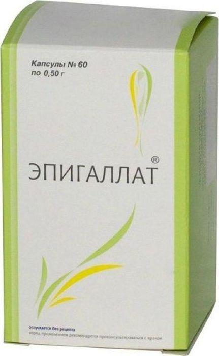 Эпигаллат капсулы 500 мг №60202320Сфера применения: Акушерство и гинекологияПротивовоспалительное