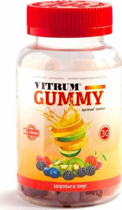 Витрум Кидс Гамми жевательный мармелад №30220984Назначают детям от 4 до 7 лет, как восполняющее дефицит витаминов и минеральных веществ.Таблетки следует принимать внутрь после еды, тщательно разжевывая по 1 таб./сут. Сфера применения: ВитаминологияВитамины для детей