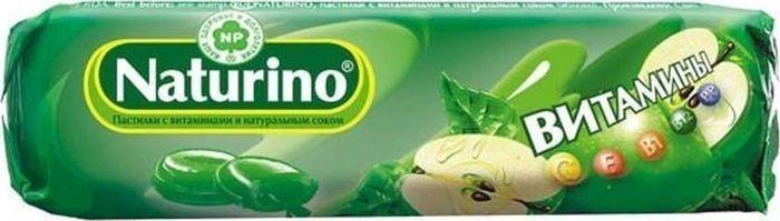 Пастилки Naturino, с витаминами и натуральным соком, яблоко, 8 шт23350Пастилки Naturino - биологически активная добавка к пище, содержащая натуральный сок и витамины. Подходит для детей от 2-х лет и взрослых. Содержит 8 витаминов: В1, В2, В5, В9, В12, С, Е, Н. Рекомендации по применению: Дети от 2 до 6 лет - до 2 пастилок в день, от 7 до 14 лет - до 3 пастилок в день. Взрослые - до 8 пастилок в день.Состав: сахар, сироп глюкозы, сироп инвертированного сахара, концентрат яблочного сока, ароматизатор натуральный: яблоко, краситель натуральный: медные комплексы хлорофиллинов, аскорбиновая кислота, токоферола ацетат (наполнители: мальтодекстрин, крахмал модифицированный, кремния диоксид); пантотеновая кислота, рибофлавин, тиамина мононитрат, фолиевая кислота, биотин, цианкобаламин.Товар не является лекарственным средством. Могут быть противопоказания и следует предварительно проконсультироваться со специалистом.Уважаемые клиенты!Обращаем ваше внимание на возможные изменения в дизайне упаковки. Качественные характеристики товара остаются неизменными. Поставка осуществляется в зависимости от наличия на складе.
