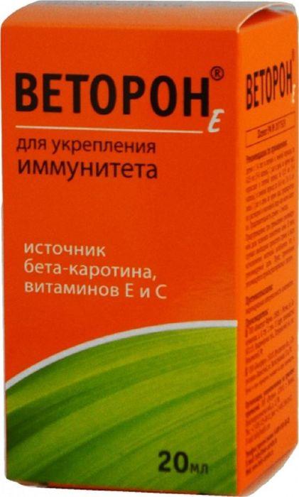 Веторон-Е флакон-капельница 2% 20 мл (водорастворимый)9154Сфера применения: ВитаминологияМакро- и микроэлементы