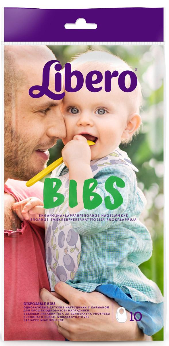 Libero Нагрудники Bibs 10 шт -  Подгузники и пеленки